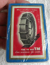 "S.G.Taylor Chain Co.,""Weather Frisky-Roads Risky"", V-Bar TIRE CHAINS,Hammond IN"