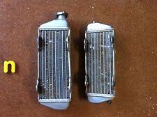 Used KTM 250 300 360 EXC radiators 1995-1997