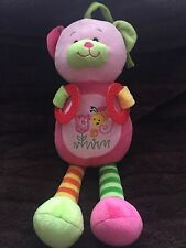 Pink Bear Activity Musical Toy With Teething