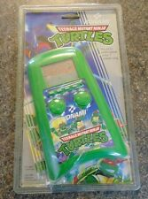 TEENAGE MUTANT NINJA TURTLES KONAMI 1989 LCD HANDHELD GAME FULLY WORKING RETRO