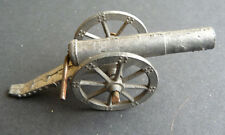 Old Made in England 7cm long Toy Match Firing Cannon