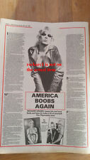 WENDY O WILLIAMS b##bs 1980 UK ARTICLE / clipping