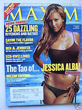 Maxim Magazine November 2003 Jessica Alba Ashanti The Tao of ...