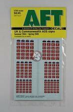 Archer 1/35 UK and Commonwealth AOS Signs #2 (Summer '43 - Spring '45) AR77037