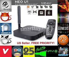 MINIX NEO U1 TV BOX Android 5.1 Lollipop S905 2G/16G +Addons/Repos Fully Loaded