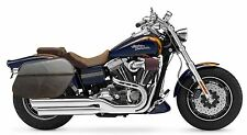 Saddleline Harley-Davidson DYNA FATBOB  FXDF Recessed leather saddlebags  New
