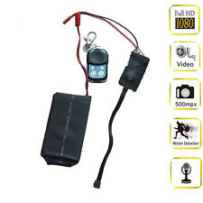 HD 1080P DIY Module SPY Hidden Camera Video MINI DV DVR Motion Remote Control S6