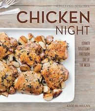 Chicken Night (Williams-Sonoma) by Kate McMillan (2014, Hardcover)