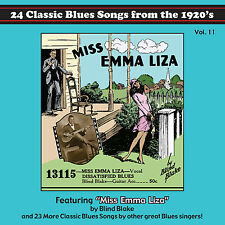 Tefteller's Blues Images Classic Paramount Blues Songs From the 1920's CD Vol 11