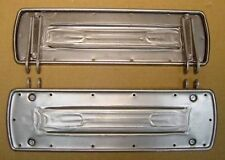 Square Footboards fit Early Harley, Knucklehead, Raw Finish