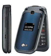 UNLOCKED T-Mobile LG LG-B450 Flip GSM Blue Camera Cell Phone **GUARANTEED**
