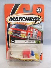 Matchbox  Storm Watch  Sea Speeder   #68   NOC   1:64 scale  (215D15)  92282