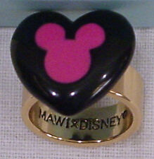 DISNEY COUTURE HEART SHAPE MICKEY MOUSE RING MINNIE MAWI SERIES NEW