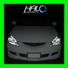 2005-2006 Acura RSX 6000K CCFL White Headlight Halo Ring Kit 4 RINGS by Oracle