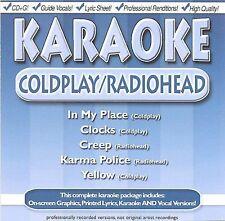 FREE US SH (int'l sh=$0-$3) USED,MINT CD : Karaoke: Coldplay & Radiohead Karaoke