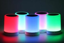Multicolor LED Touch Lamp Light Bluetooth Speaker Best Quality