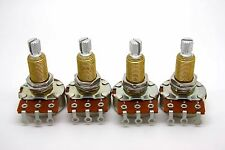 4x BOURNS A500K 500K LOGARITHMIC AUDIO TAPER LONG SHAFT POTENTIOMETER