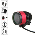 3000lm Zoomable CREE XM-U2 LED 4x18650 bicicletta luce anteriore Bike MTB Light