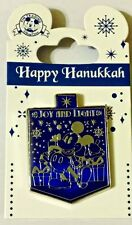 HAPPY HANUKKAH Disney Park Pin Mickey Dreidel Joy and Light! - NEW