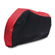 XXL Red Motorcycle Cover For Yamaha V-Star XVS 650 950 1100 Custom Silverado