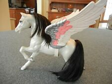 VINTAGE 1984 MATTEL SHE-RA PRINCESS OF POWER  SILVER STORM  PEGASUS WITH CATRA