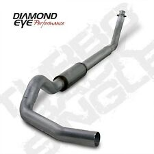 "Diamond Eye 5"" SS Turbo Back Single For 94-02 Dodge Ram Cummins 5.9L Diesel"