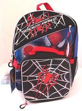Marvel The Amazing Spider-Man 2 Kids Boys 2 Piece Set  BackPack Lunch Kit NWT