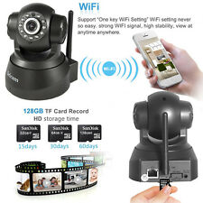 Sricam P2P Wireless IP Camera Pan/Tilt WiFi IR 720P Security Nightvision Webcam