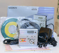 Sony Walkman MZ-N505 Net MD, Portable MiniDisc Player Recorder, As New, 2059