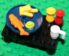 Lego Fish and Chips with peas Dinner NEW!!!