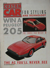 Custom Car magazine June 06/1986