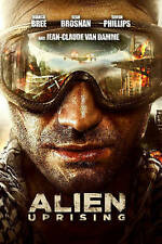 Alien Uprising (DVD, 2013) Bianca Bree, Simon Phillips, Jean-Claude Van Dam, NEW