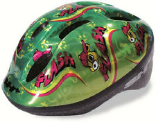 SH+ Childs Childrens Boys Girls Bike Bicycle Cycle Helmet Green Small 47-52cms