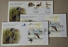 2005 Malaysia Migratory Birds 3v Stamps fdc + MS fdc + O/P MS fdc (KL Cachet)