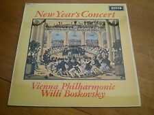 STRAUSS - NEW YEAR'S CONCERT = DECCA SXL 6332 WBG MADE IN ENGLAND = EX+