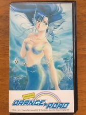Orange Road Vol 1 Of 5 Anime VHS With Original Clamshell