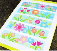Flower Power - modern applique & pieced quilt PATTERN - Amanda Murphy