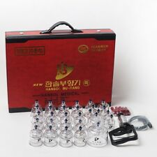 New Hansol Bu-Hang Massage Professional Cupping Set 30PCS Cup