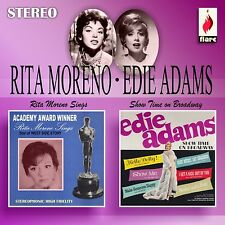 RITA & ADAMS,EDIE MORENO - RITA  MORENO SINGS & SHOWTIME ON BROADWAY  CD NEU