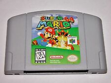 Super Mario 64 Game for Nintendo 64 N64 System Console *TESTED* *CLEANED*