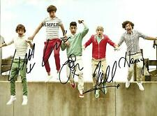 ONE DIRECTION BAND #1 REPRINT AUTOGRAPHED SIGNED PICTURE PHOTO AUTO HARRY STYLES