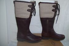 "New!  UGG Australia Women's Boots "" Elsa""  Style 1005578 Size 6.5 Chocolate  W24"