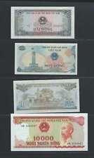 Vietnam Lot de 4 billets  différents Lot N° 3