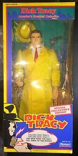"New Disney 15"" Dick Tracy Collector Edition Figure with Revolver Playmates 1990"
