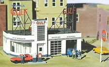 Micro Structures Gulf Gas Station - Z Scale