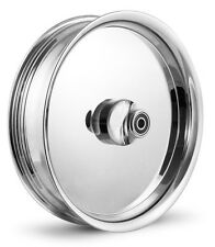 "DNA ""SMOOTHIE"" CHROME FORGED BILLET 16"" X 3.5"" REAR HARLEY TOURING WHEEL"