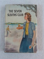Carol Norton THE SEVEN SLEUTHS' CLUB Saalfield Publishing Company c. 1928