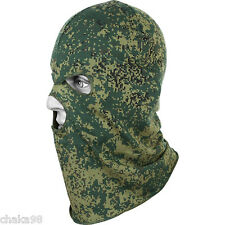 Camouflaged Face Mask Balaclava Summer type EMR digital flora pattern by Splav