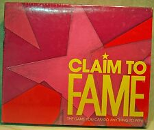 "CLAIM TO FAME  ""THE GAME YOU CAN DO ANYTHING TO WIN!  NEW SEALED BOX"