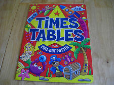 TIMES TABLES ACTIVITY PB AGE 7 TO 10 KS2 WITH PULL OUT POSTER TABLES 1 TO 12